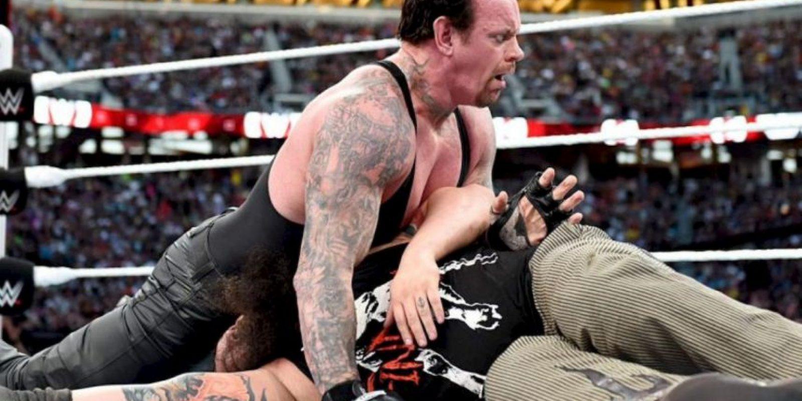 4. A pesar de tener 50 años, aún se mantiene en forma Foto:WWE