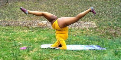 A pesar de ello, Stanley sigue mostrando a sus seguidores que el practicar yoga es una actividad que todos pueden realizar. Foto:Vía Instagram.com/mynameisjessamyn
