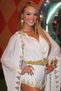 Es Zuleyka Rivera, boricua y ex Miss Universo. Foto:vía Getty Images