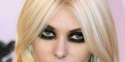 """Taylor Momsen y su look de Marilyn Manson """"wannabe"""". Foto:vía Getty Images"""