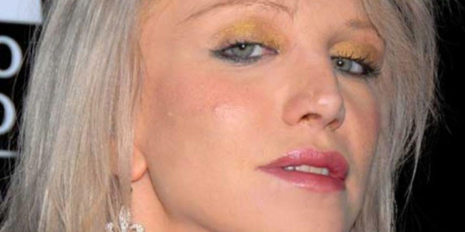 Courtney Love acaba de salir de la cárcel. Foto:vía Getty Images
