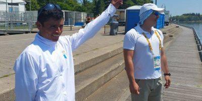 #Toronto2015 La húmeda promesa que su entrenador le cumplió a Erick Barrondo