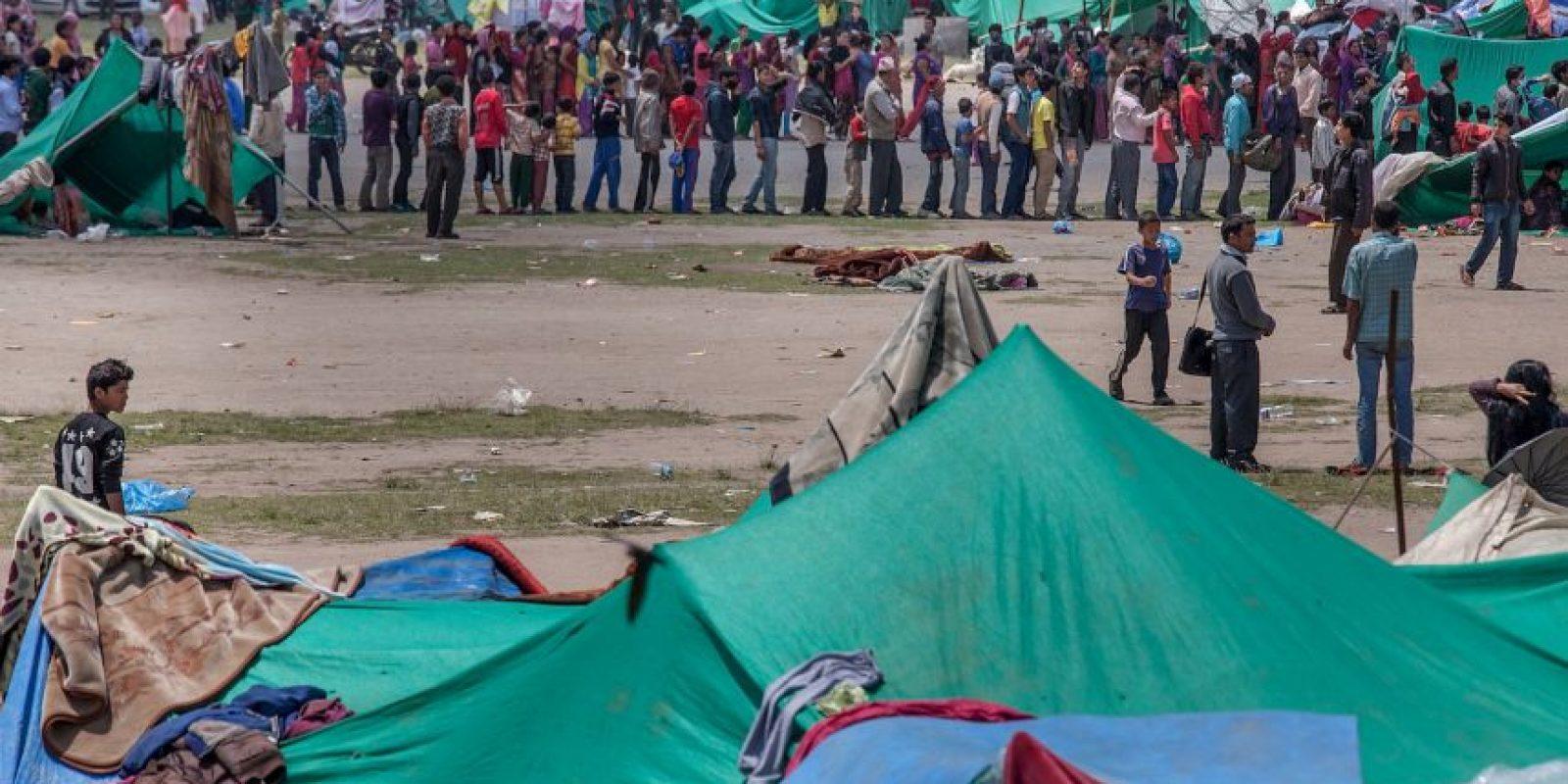 Ambos sismos dejaron a más de ocho mil muertos. Foto:Getty Images