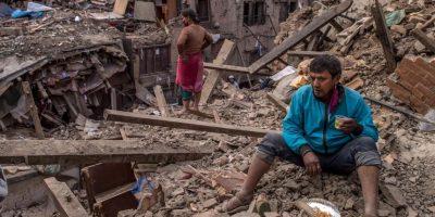 Es el sismo más devastador desde el que tuvieron en 1934. Foto:Getty Images