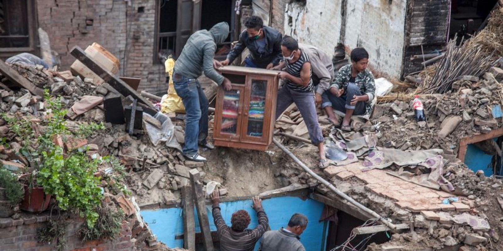 Miles de personas tuvieron que vivir a la intemperie en casas de campaña. Foto:Getty Images