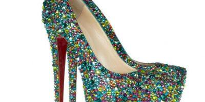 Estos zapatos de Christian Loboutin, 4 mil dólares (y hay más caros) . Foto:vía Net-A-Porter