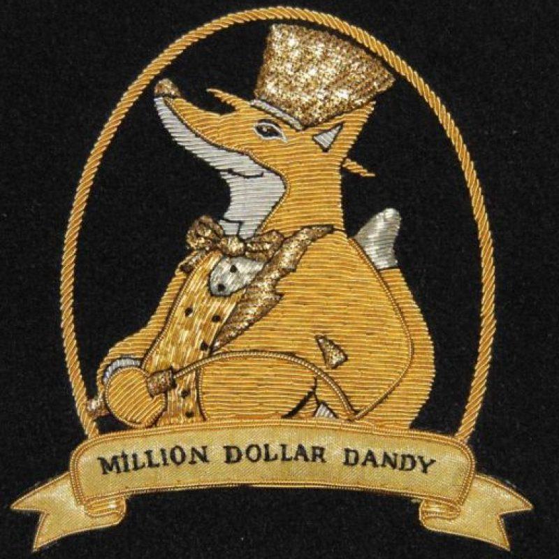 El traje Million Dollar Dandy es el más caro . Y cuesta eso. Foto:vía Million Dollar Dandy.