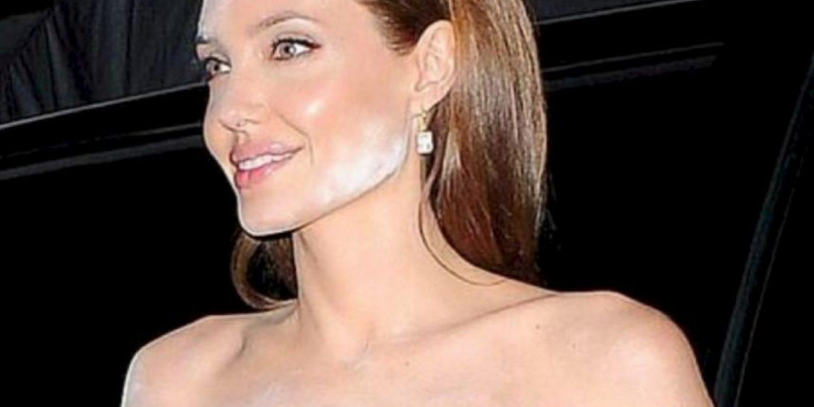 Esto hace que las estrellas hubiesen, por ejemplo, metido su cara en harina. Foto:vía Getty Images