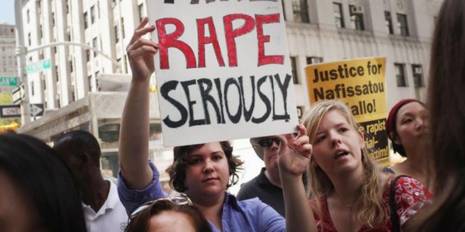 Durante los pasados cinco años hay una tendencia de cinco violaciones al día en el Estado de México. Foto:vía Getty Images