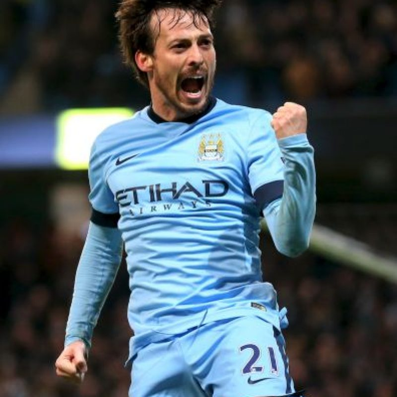 12. David Silva Foto: Getty Images