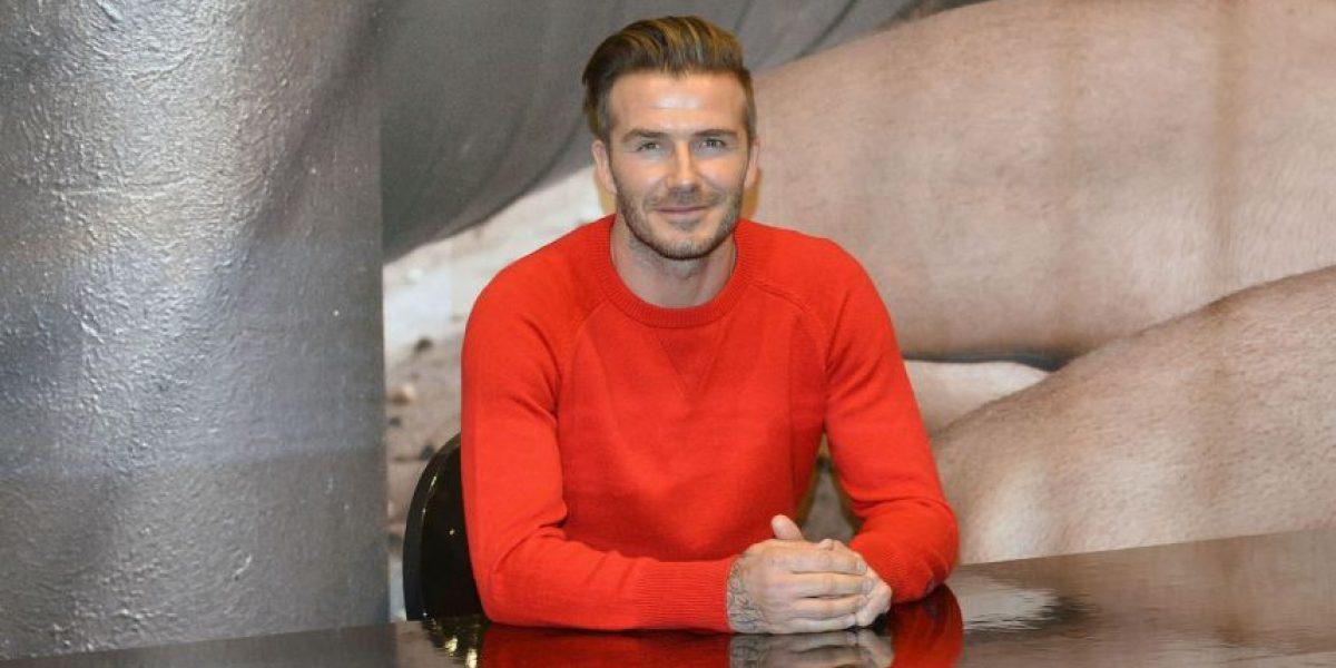 David Beckham añadió un tierno tatuaje a su colección