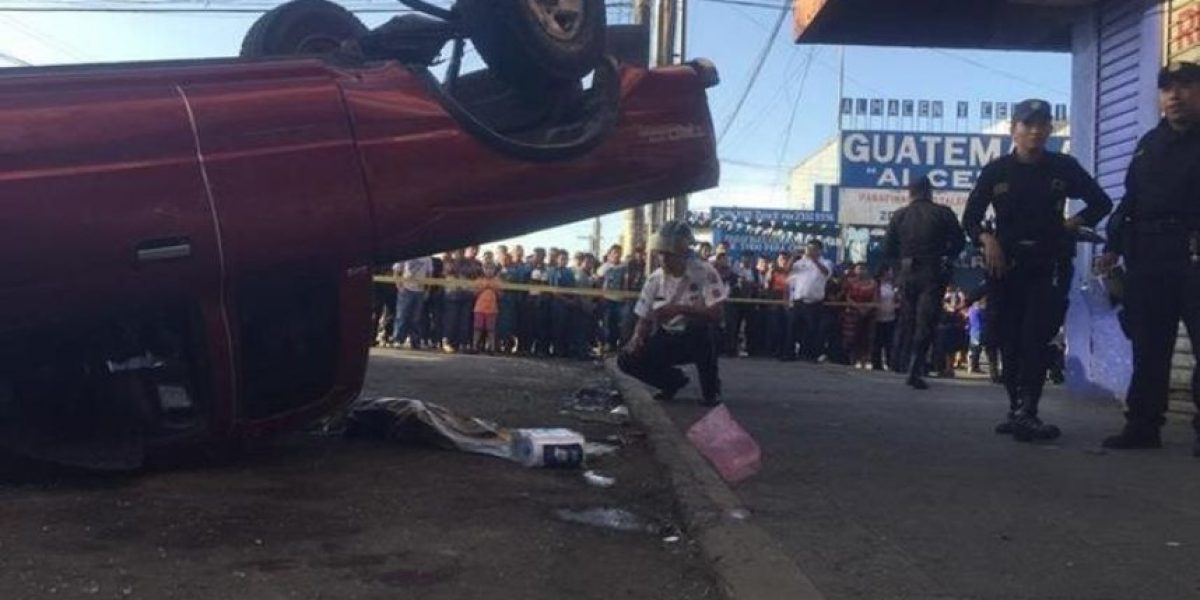 Muerte de niña en accidente de la zona 9 fue por imprudencia