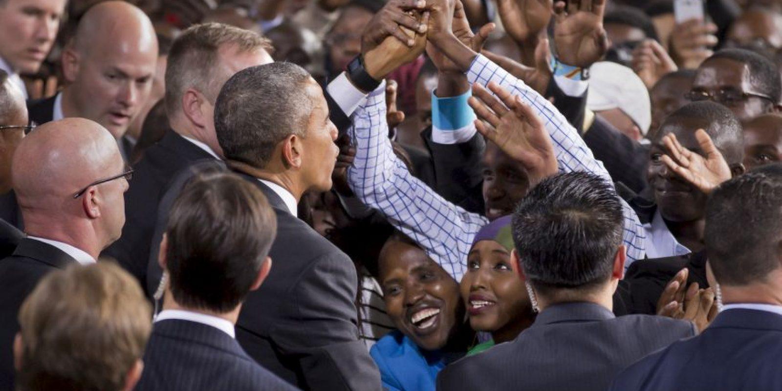 Kenia es el país natal del padre de Obama. Foto:AP