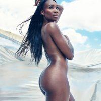 La mayor de las Williams fue la portada de ESPN Body Issue en el mes de julio. Foto:ESPN