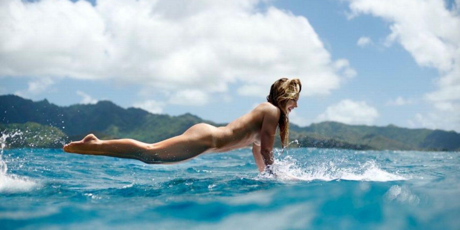 Coco Ho comenzó a practicar surfing desde que tenía siete años de edad, ahora tiene 23. Foto:ESPN