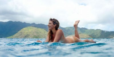 La nacida en Honolulu, Hawaii, Estados Unidos, posó para ESPN Body Issue. Foto: ESPN