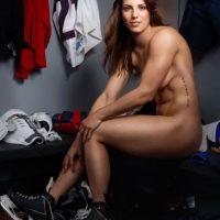 Knight posó para ESPN Body Issue y ganó la medalla de plata en lso Juegos Olímpicos de Invierno en 2012 y 2014. Foto:ESPN