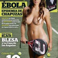Celeste Paz, padelista argentina. Foto:Interviu