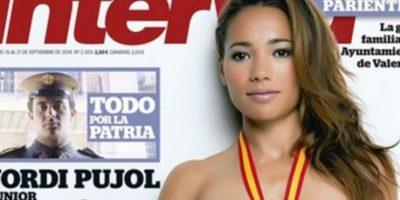 Jadilla Ramouhni, atleta española. Foto:Interviú
