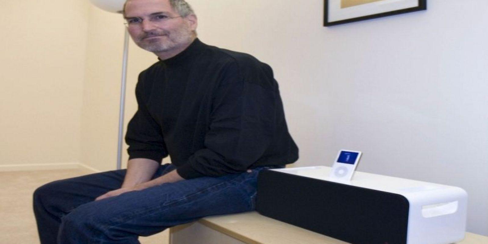 Fundó la compañía Apple en 1976 junto con su amigo Steve Wozniak. Foto:Getty Images