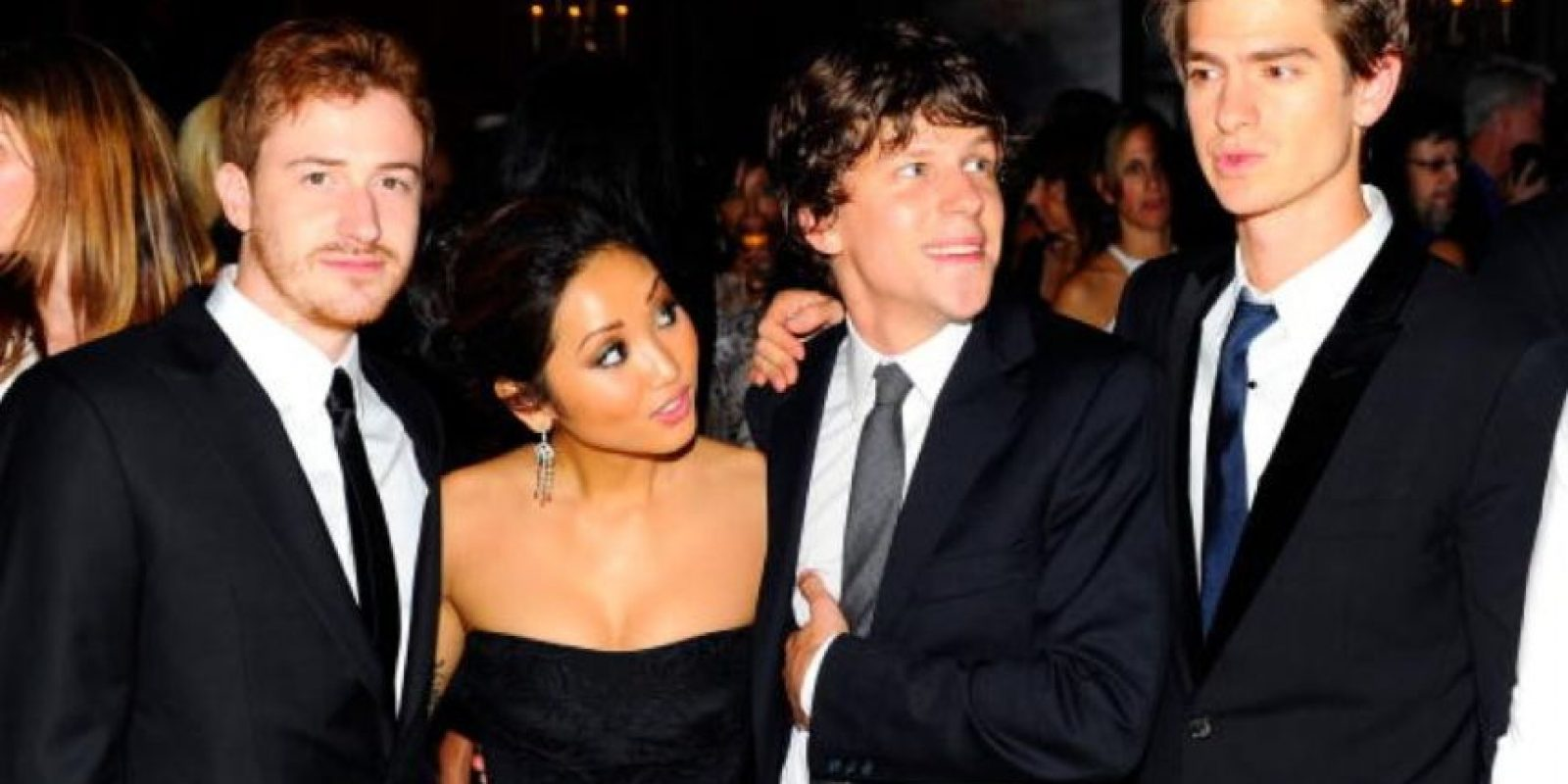 "Parte del elenco de ""The Social Network"". Foto: Getty Images"