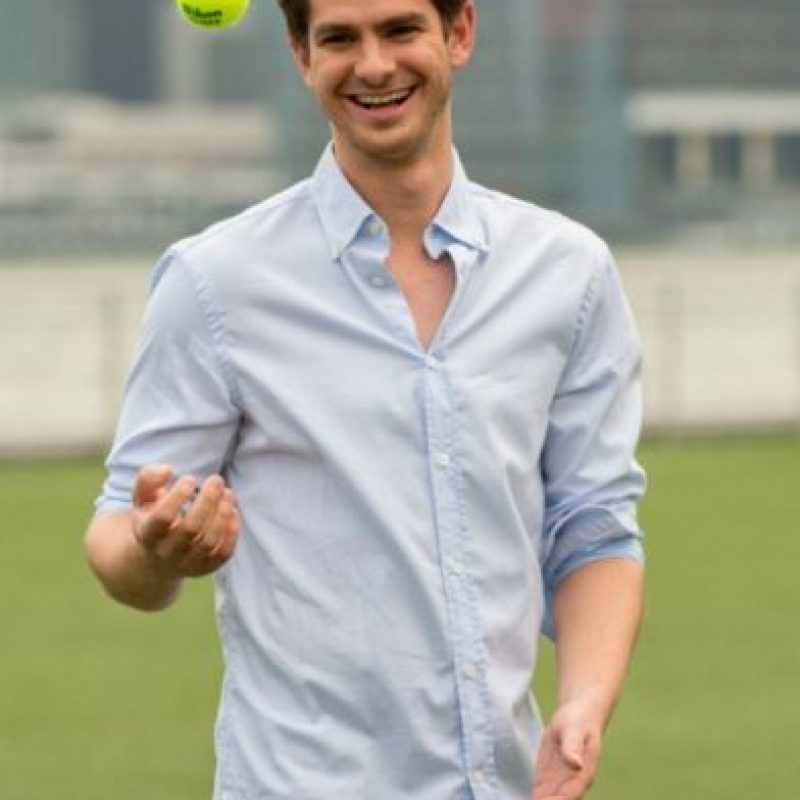 "Andrew Garfield interpretó al fundador de Facebook en la película ""The Social Network"". Foto: Getty Images"