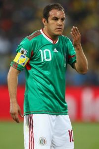 4. Cuauhtémoc Blanco Foto: Getty Images