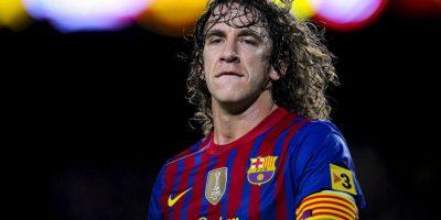 Sólo podría ser Carles Puyol, excapitán del Barça. Foto:Getty Images