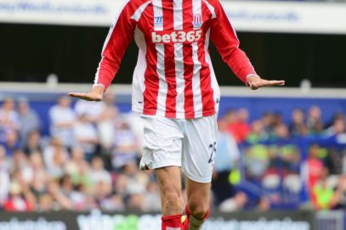 El inglés Peter Crouch. Foto: Getty Images