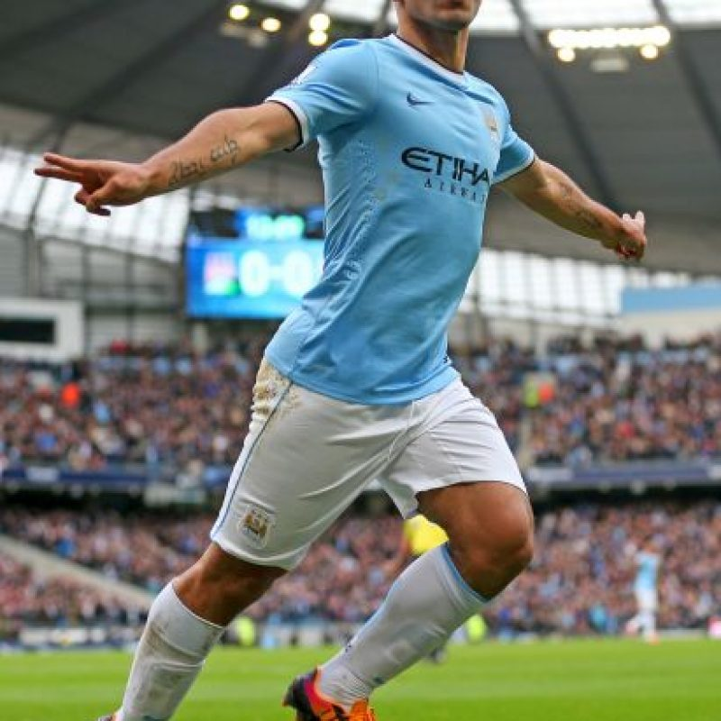 8. Sergio Agüero Foto: Getty Images