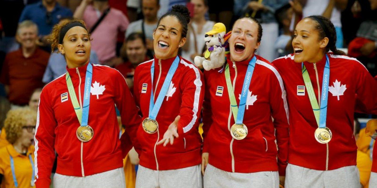 Canadá ganó 217 medallas, de las cuales 78 fueron doradas, 69 de plata y 70 de bronce Foto:Getty Images