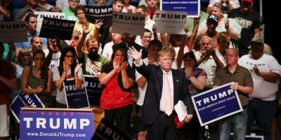 Detrás de ellos se encuentra Scott Walker, gobernador de Wisconsin, con el 10%. Foto:Getty Images