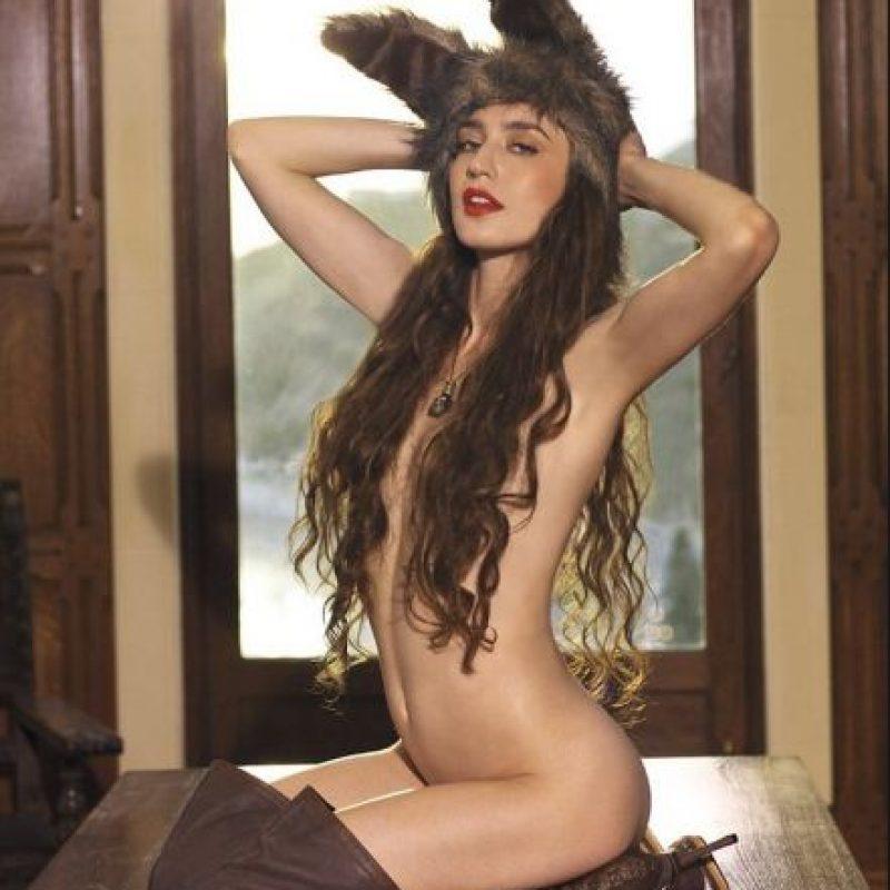 Hija del célebre Mick Jagger Foto:Playboy