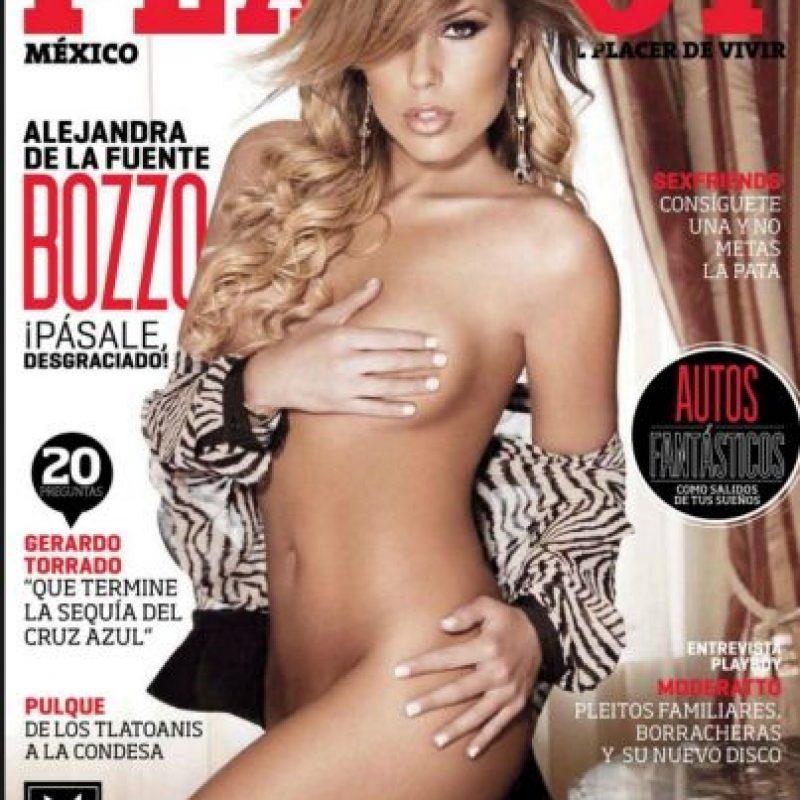 Alejandra de la Fuente Foto:Playboy