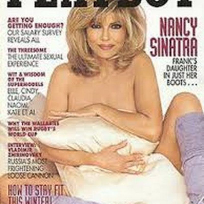 Nancy Sinatra Foto:Playboy
