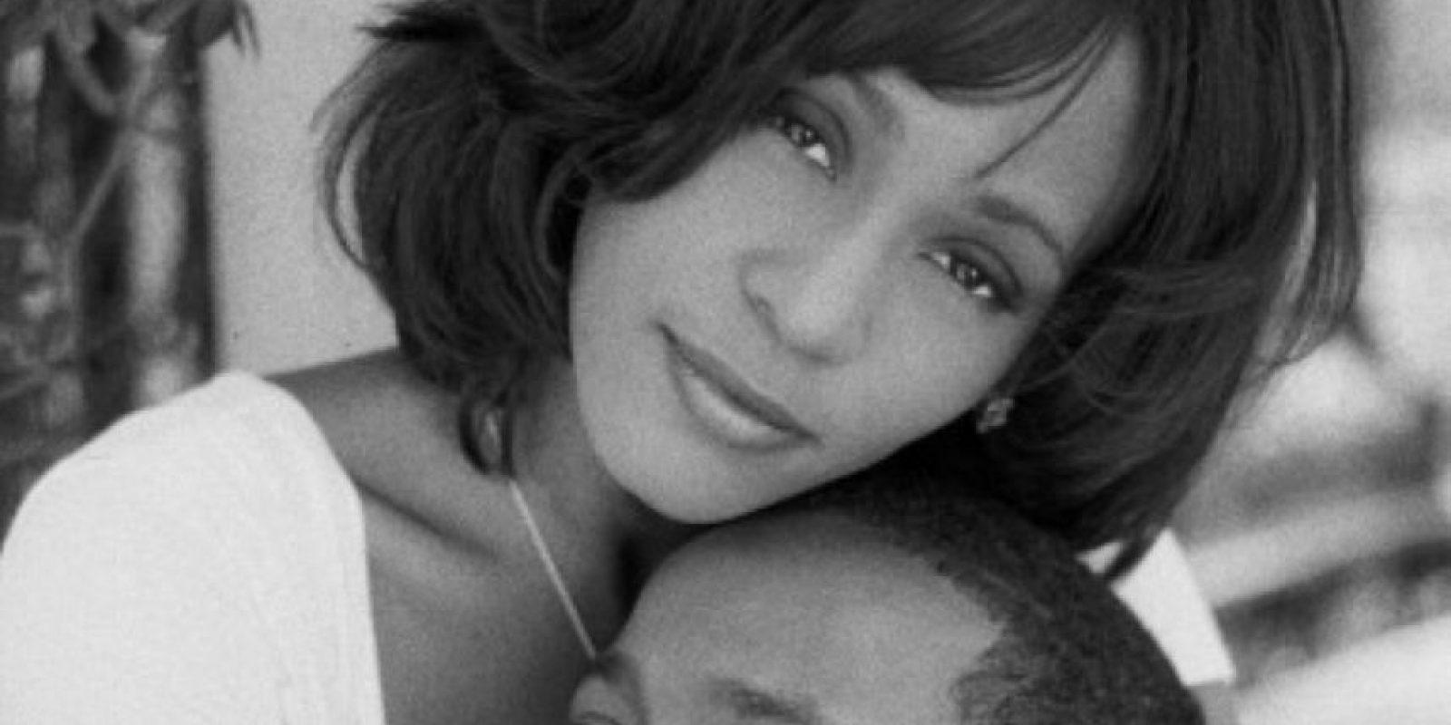 Ella nació en el cenit de la carrera de Whitney. Foto:vía Getty Images
