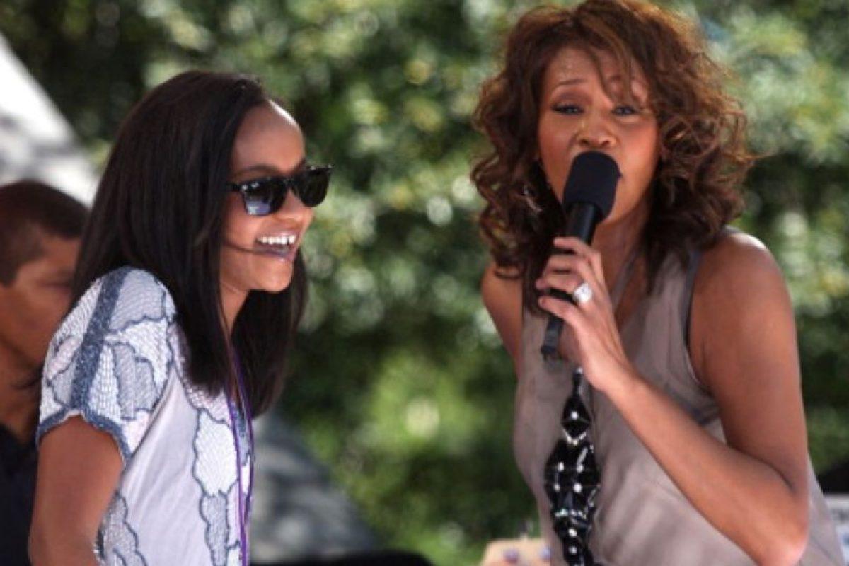 Houston murió el 11 de febrero de 2012. Foto:vía Getty Images