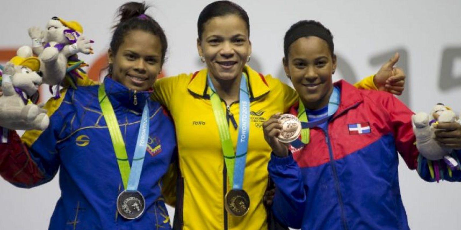 Logró la medalla de plata Foto:Getty Images