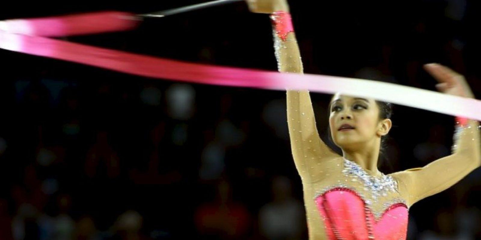 Se convirtió en la reina de los Juegos Panamericanos 2015 Foto:Getty Images
