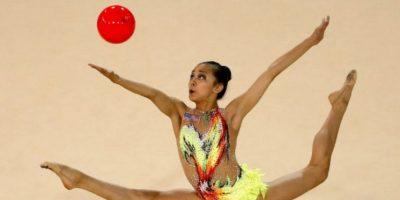 A sus 15 años, la joven estadounidense conquistó cinco medallas de oro Foto:Getty Images