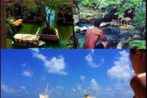 Los jóvenes de 24 y 34 años, no solo han tenido románticos paseos por la Riviera Maya en México Foto:Vía instagram.com/eizagonzalez/