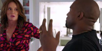 Así fue el primer encuentro entre Caitlyn Jenner y Kanye West