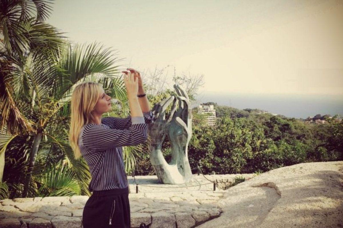 Es considerada una de las mejores tenistas de la actualiadad Foto:Vía instagram.com/mariasharapova