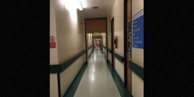 La imagen de un ser en un hospital Foto:Imgur