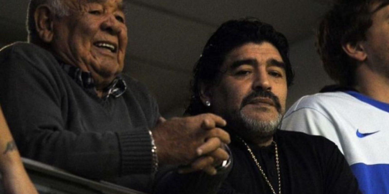 Diego Armando se encuentra en Argentina. Foto:Getty Images