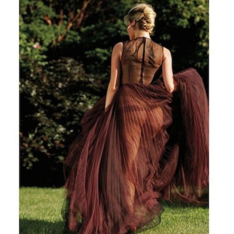 Upton presumió vestido transparente en Instagram Foto:Instagram/KateUpton