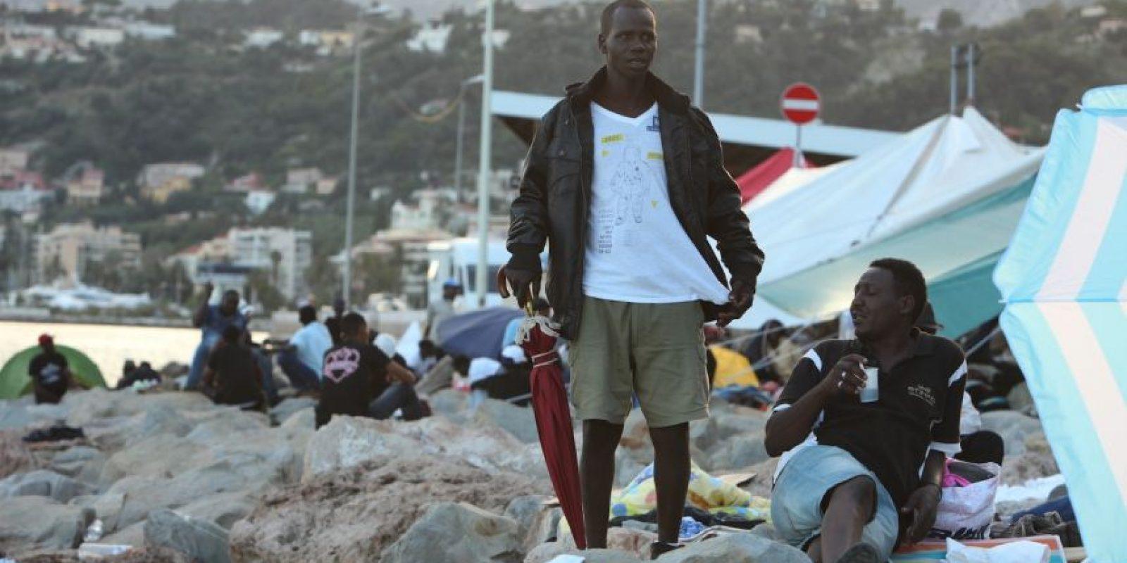 """""""El reconocido internacionalmente y el que tiene tomada la ciudad de Trípoli"""". Foto:Getty Images"""