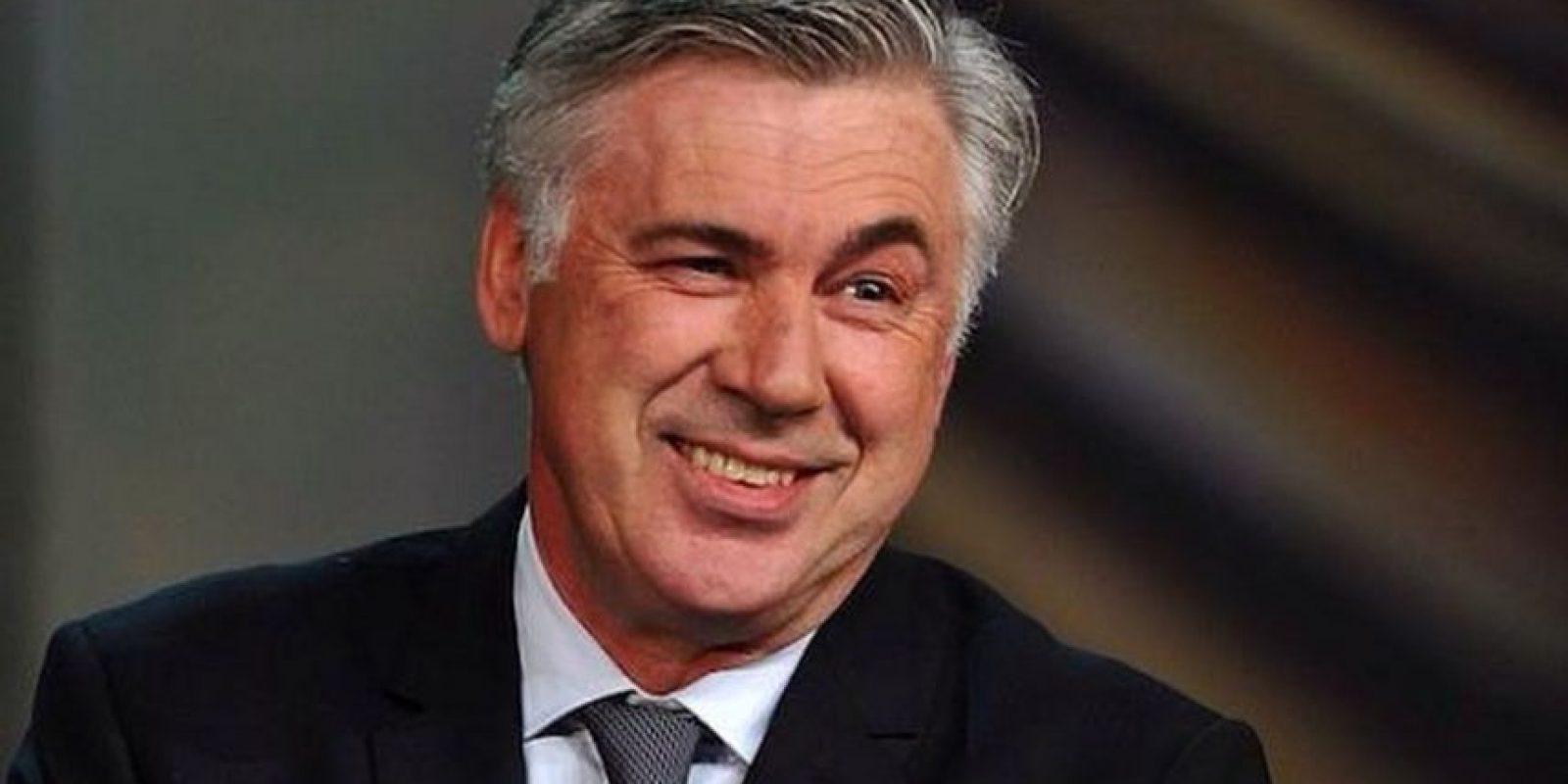 Carlo Ancelotti, entrenador italiano sin equipo actualmente. Foto:Twitter