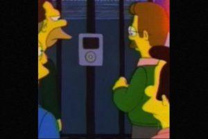 En 1996, el Intercom de la casa del Sr. Burns parecía un iPod. Foto:vía FOX