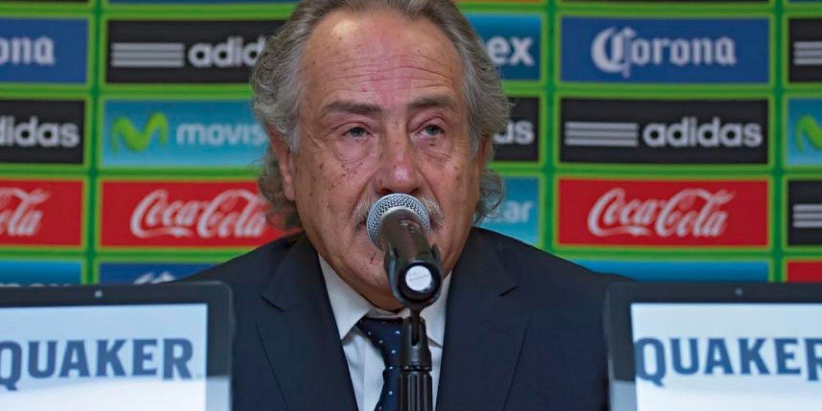Decio de María, presidente ejecutivo de la Liga MX. Foto:twitter.com/miseleccionmx